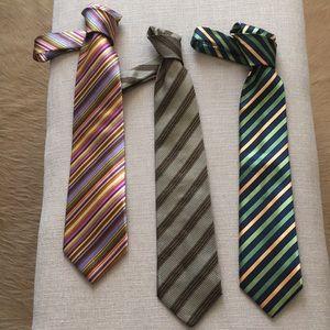 3 Designer Ties